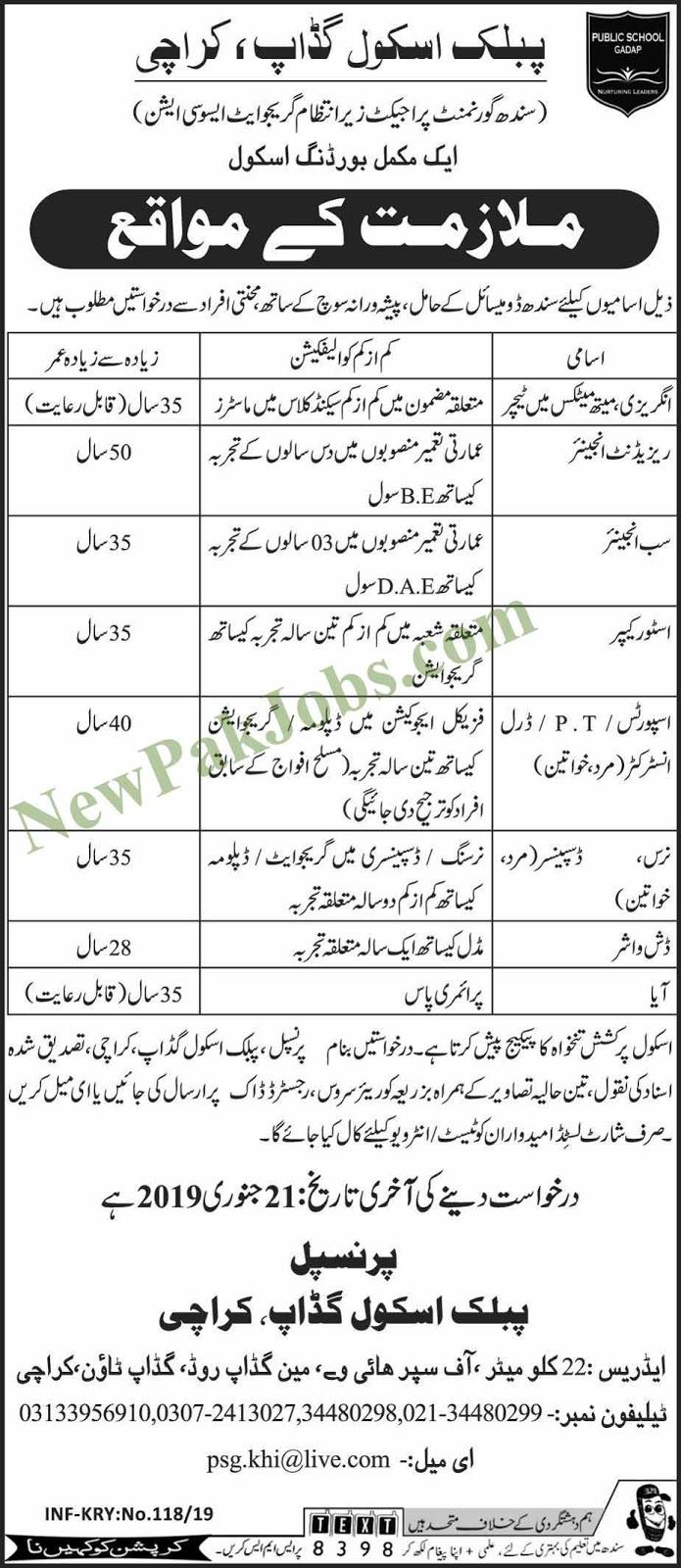 Gadap Karachi 11 Jan 2019