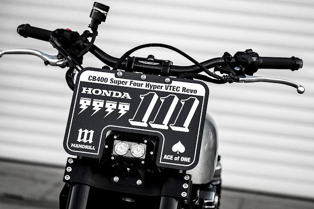 Honda CB400F By Mandrill Garage Hell Kustom