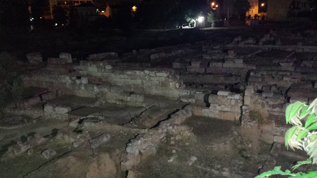 Ruins of the Keramikos area of Athens