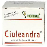 Ciuleandra - crema hidratanta de zi hofigal