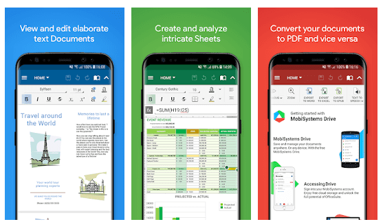 OfficeSuite - Office, PDF, Word Sheets Slides Note v10.5.19300 Apk [Premium Mod]