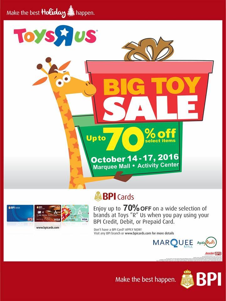 Manila Shopper Toys R Us Big Toy Sale At Marquee Mall
