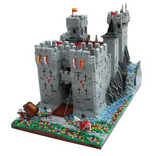 """Castle Woodstock"" – Lego Medieval Castle MOC"