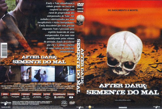 Capa DVD After Dark: Semente do Mal