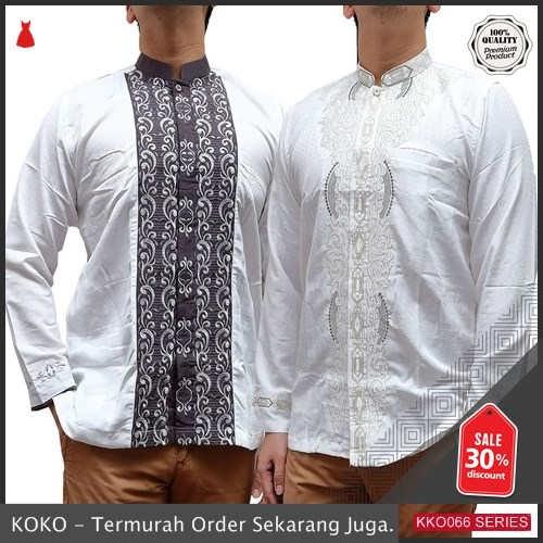 KKO66 OPS821 Baju Koko Premi Muslim Lengan Panjang Berkualitas BMGShop