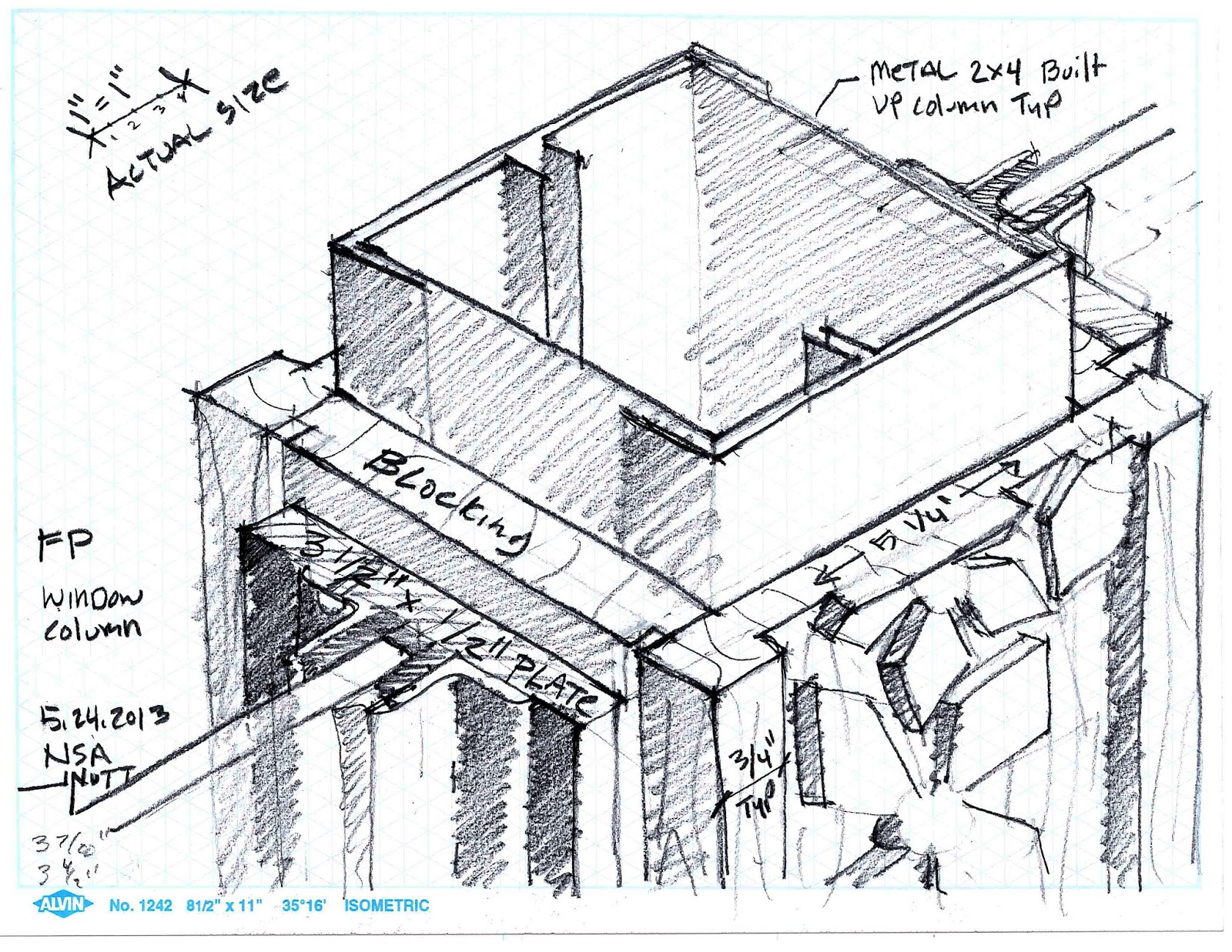 Nutt Draws...: Sketching at work