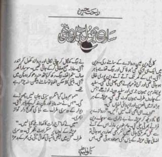 Sari bhool hamari thi by Rahat Jabeen