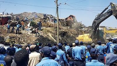 Ethiopia: Garbage dump landslide kills 30