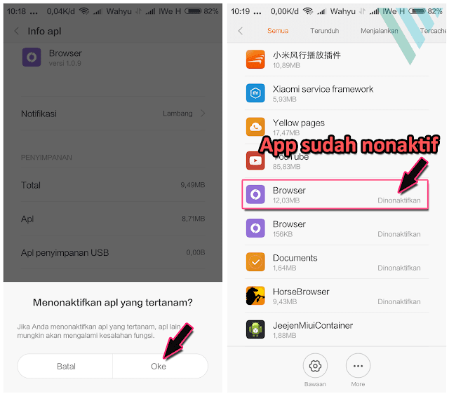 Mengaktifkan Aplikasi Xiaomi