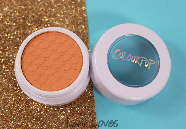 ColourPop Super Shock Shadow - Kennedy Swatches & Review