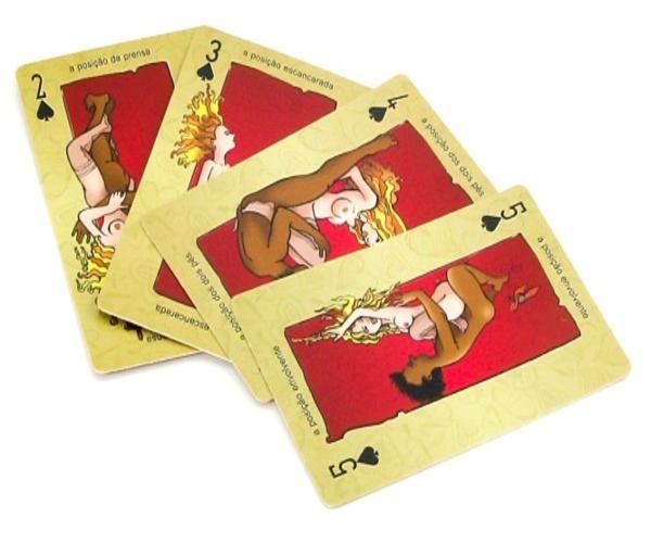 88849aca2 Baralho Kama Sutra Cards Ilustrado - 52 Posições