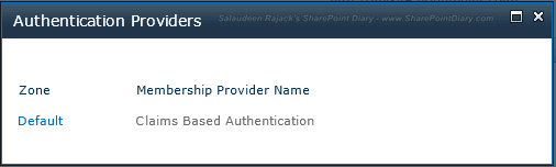 Change SharePoint Authentication from Classic Mode to Claims Based