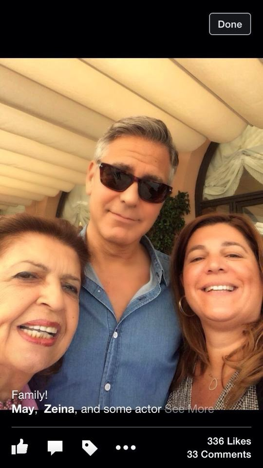 Lebanese in-laws of George Clooney will in no time push away the