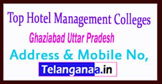 Top Hotel Management Colleges in Ghaziabad Uttar Pradesh