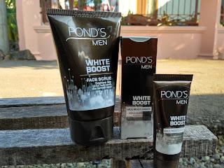 Cara Mengkombinasikan Penggunaan Pond's Men White Boost Face Scrub Dengan Pond's Man White Boost Face Moisturiser