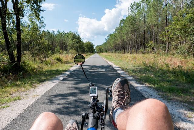 Vélodyssée, de Lacanau à Lège Cap Ferret