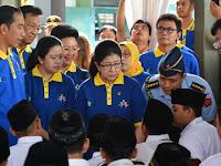 Jokowi Canangkan Kampanye Imunisasi MR Di MTs 10 Sleman