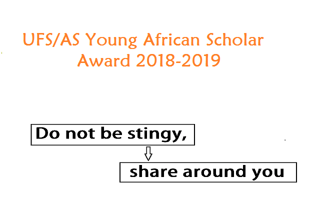UFS/AS Young African Scholars Award