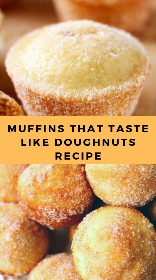 MUFFINS THAT TASTE LIKE DOUGHNUTS RECIPE #weightwatchers #dessert