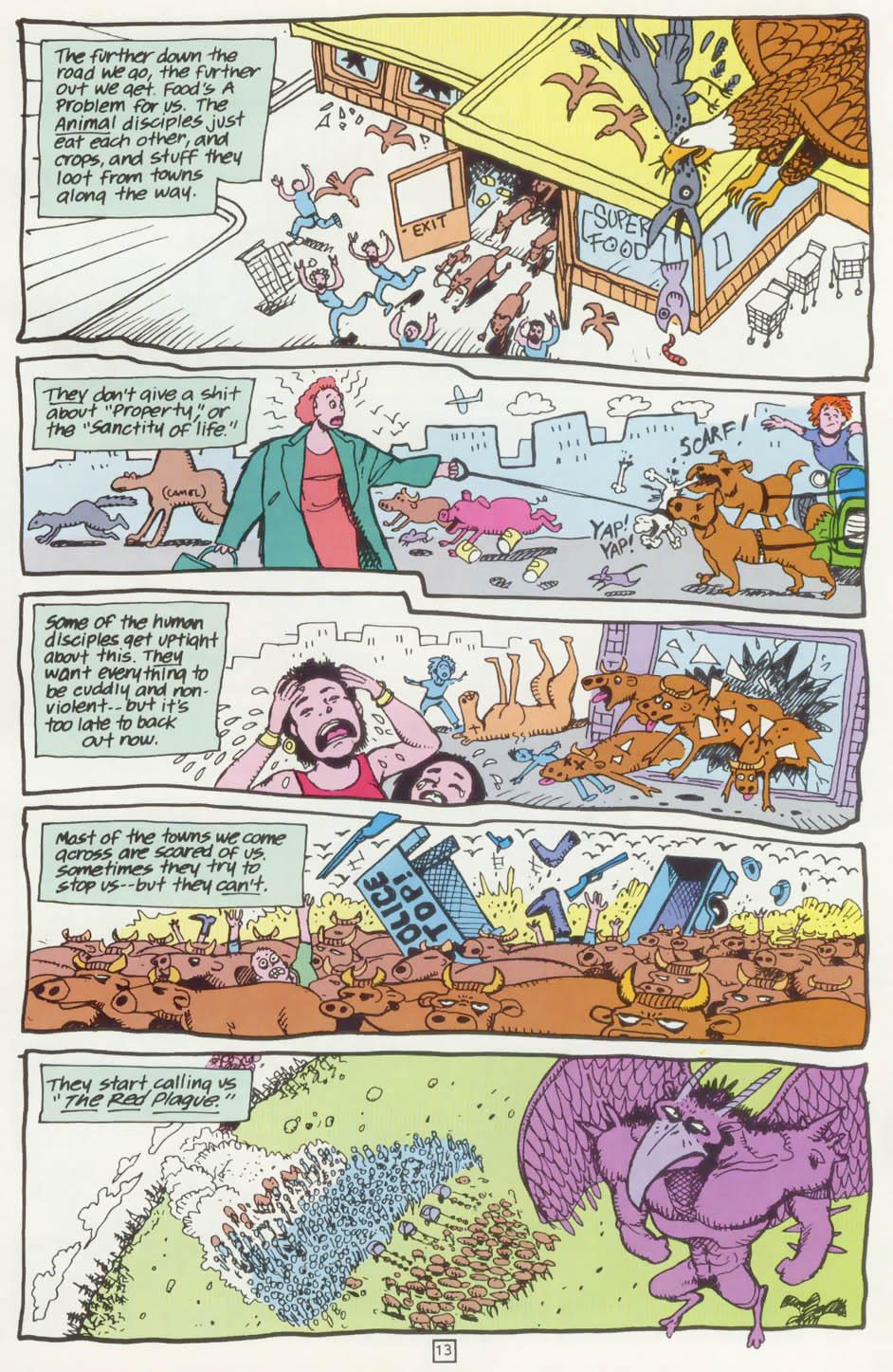Read online Animal Man (1988) comic -  Issue #75 - 14