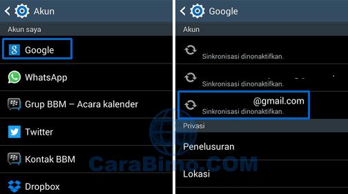Cara Menghapus Akun Google dari Ponsel Android 2