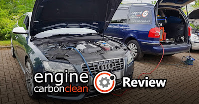 Audi S5 Sportback Engine Carbon Clean Review