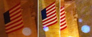 orbs near flag