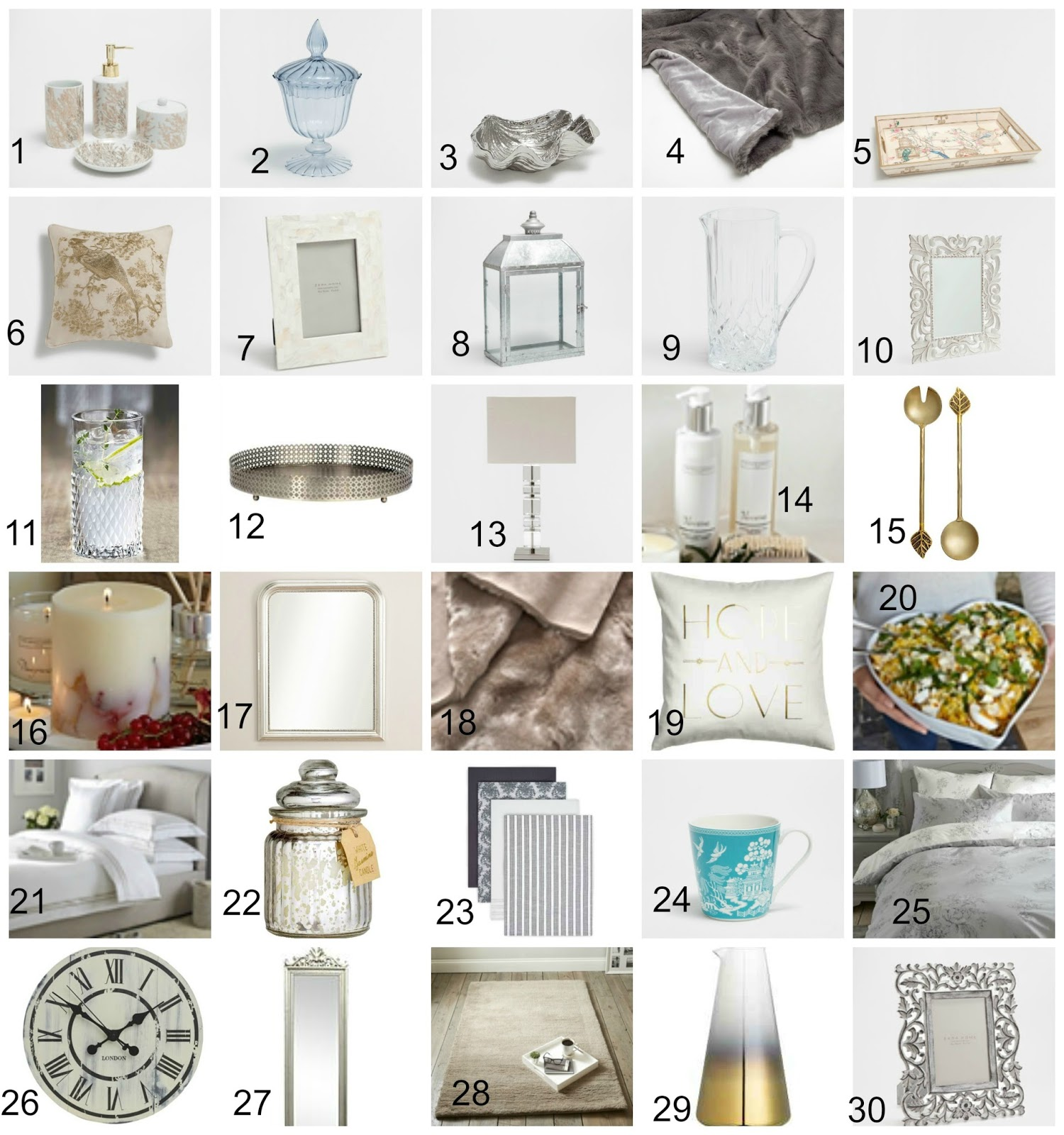 Christmas Gift Guide - The Huge Homeware Edit 2016