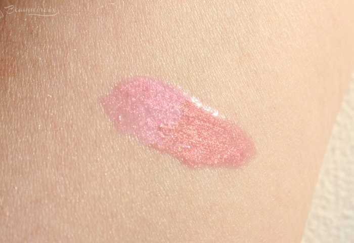 swatch lancome prismatic plump gloss passion glow