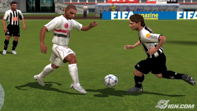 north america for the playstation fifa football 2005 marks the first