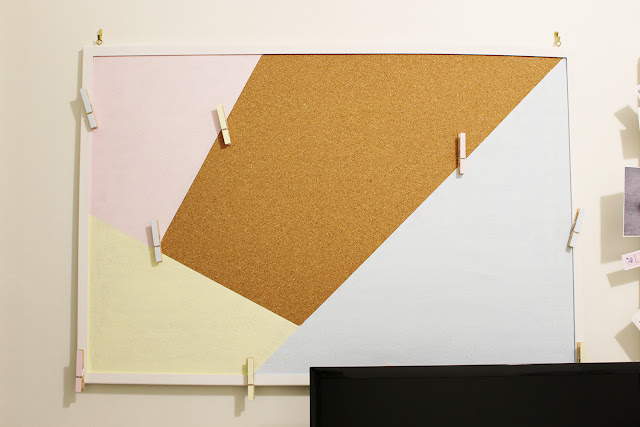 cork board decor DIY