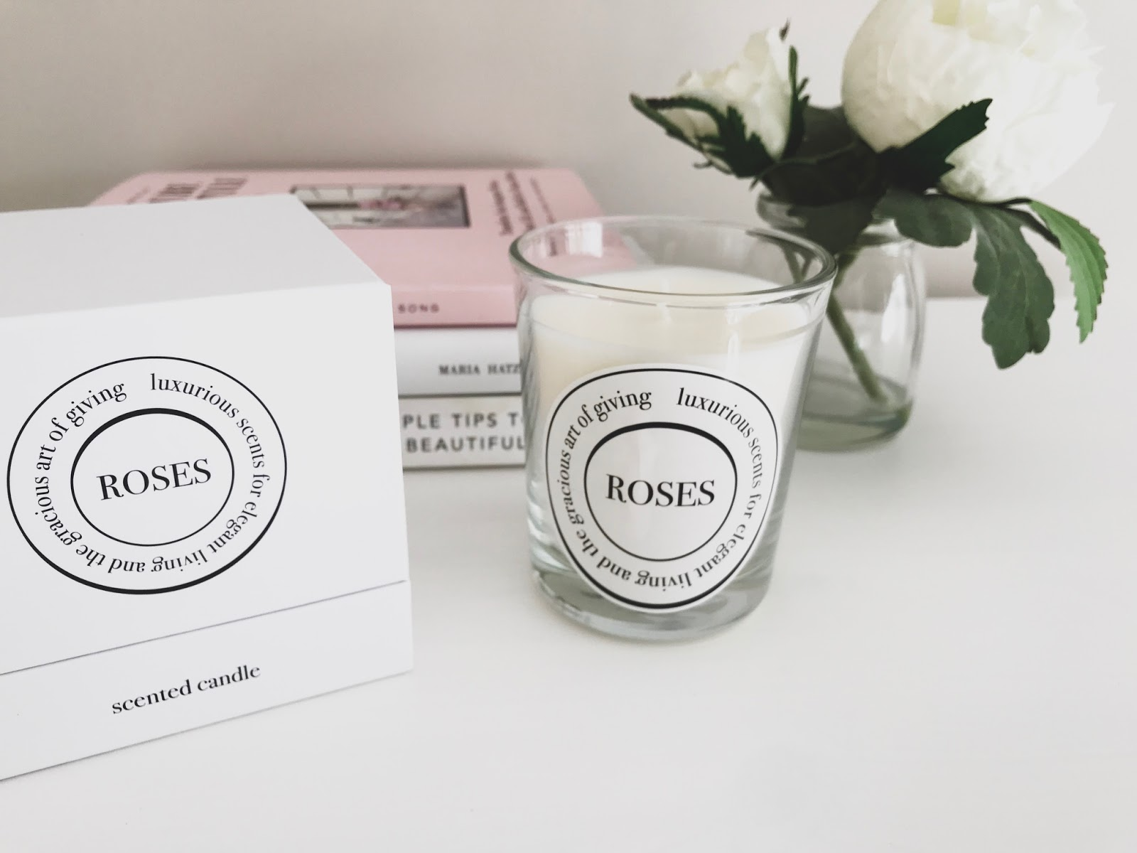 Diptyque Roses Candle dupe