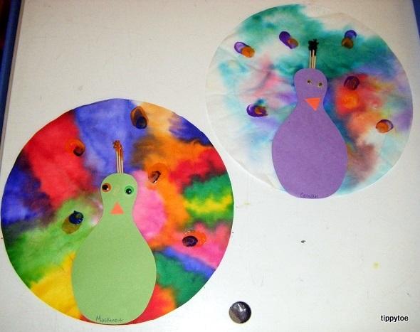 Tippytoe Crafts: Peacocks