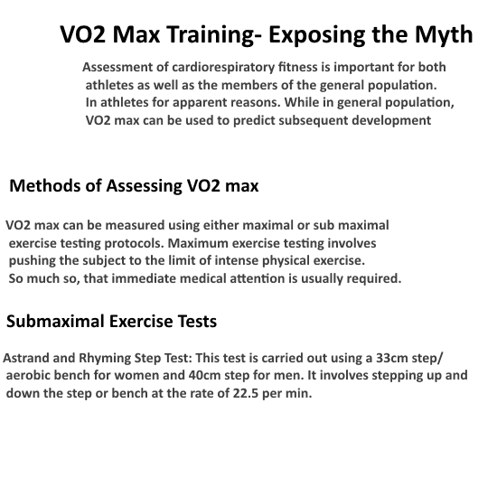 The One Bestof Inspiration : VO2 Max Training- Exposing the Myth