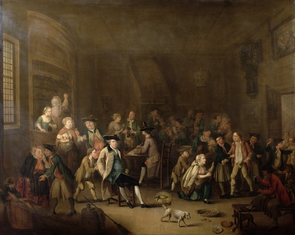 The Press Gang, c.1760