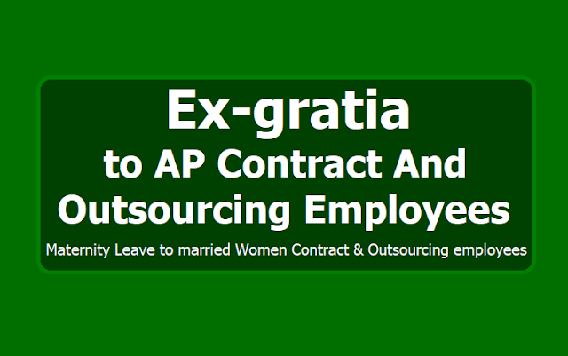 Ex-gratia to AP Contract and Outsourcing Employees