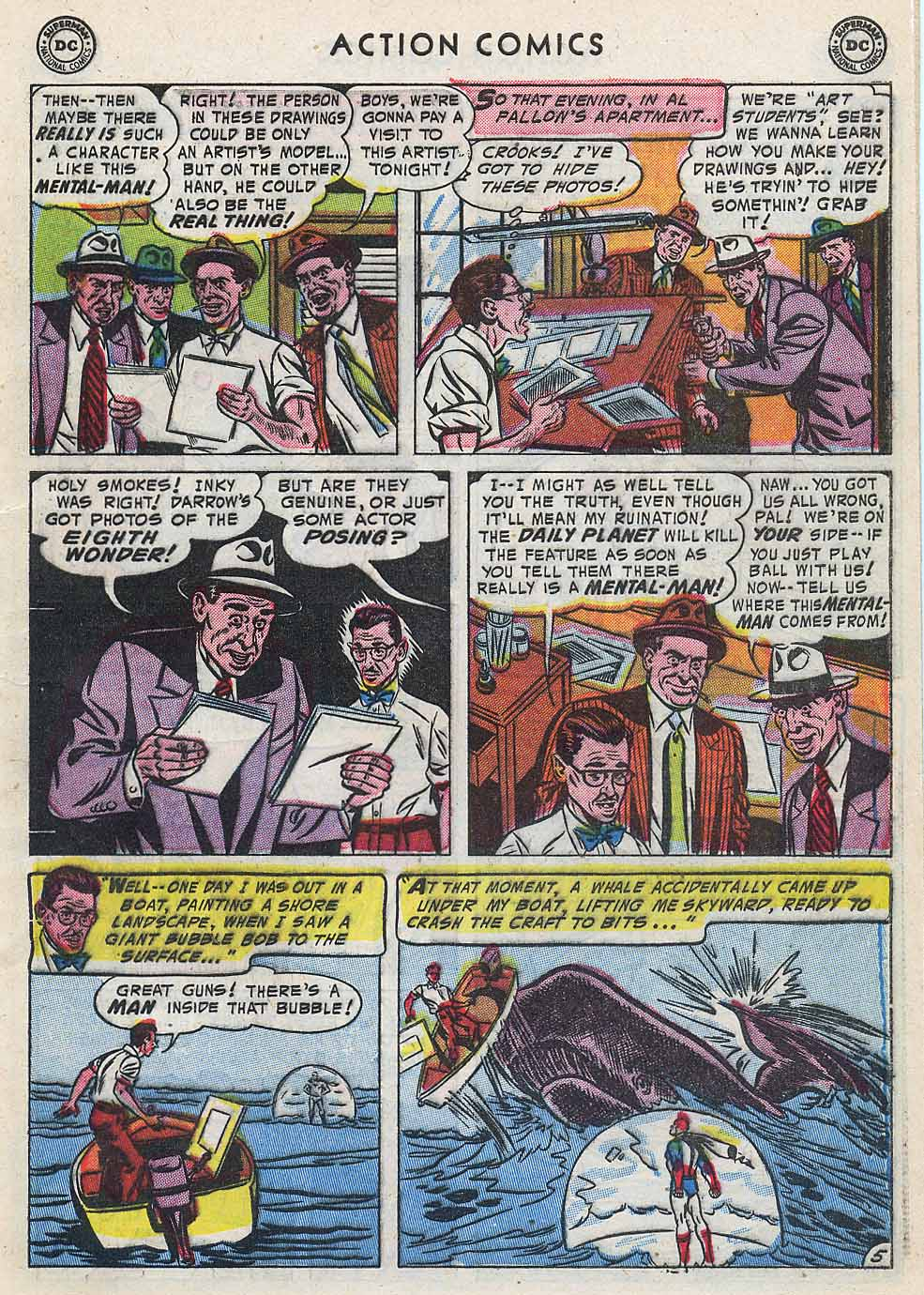 Read online Action Comics (1938) comic -  Issue #196 - 7