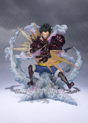 "Monkey D. Luffy Gear Fourth Figuarts ZERO Chou Gekisen -Extra Battle- de ""One Piece"" - Tamashii Nations"