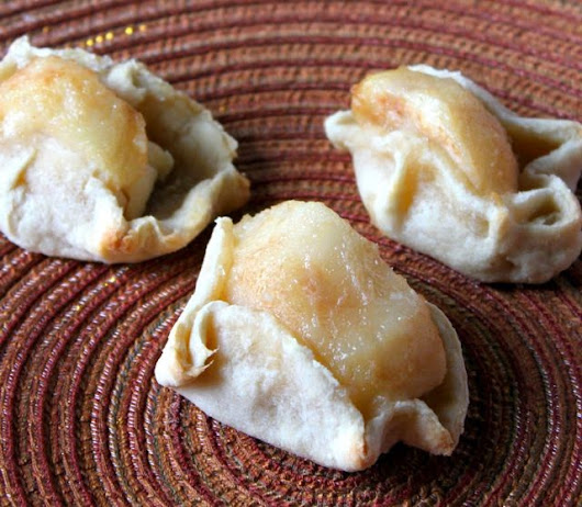 Pear, Cheese and Almond Mini Galettes