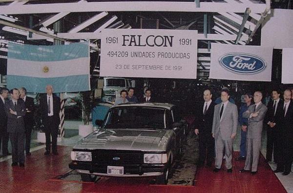 El último Ford Falcon 1991 Argentina