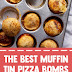 The Best Muffin Tin Pizza Bombs #pizzarecipes #pizzabombs