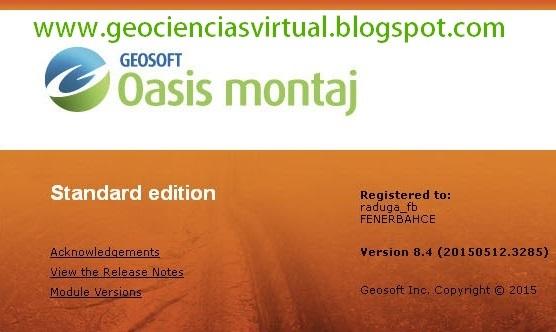 Geosoft Oasis Montaj Crack
