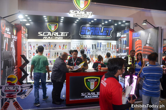 Scarlet Racing Exhibition Booth