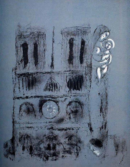 Marc Chagall   Paris through my window   1913