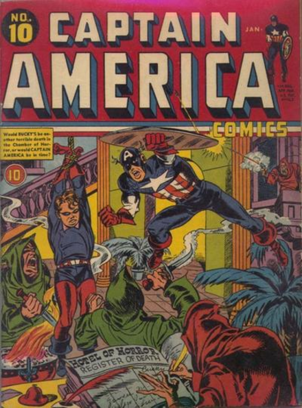Captain America Simon-Kirby