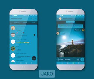 Sea Theme For YOWhatsApp & Fouad WhatsApp By Jako