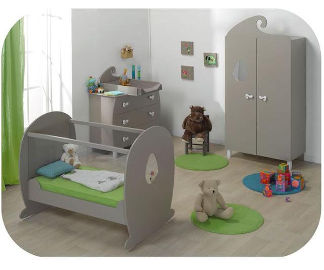 chambre de b b moderne. Black Bedroom Furniture Sets. Home Design Ideas