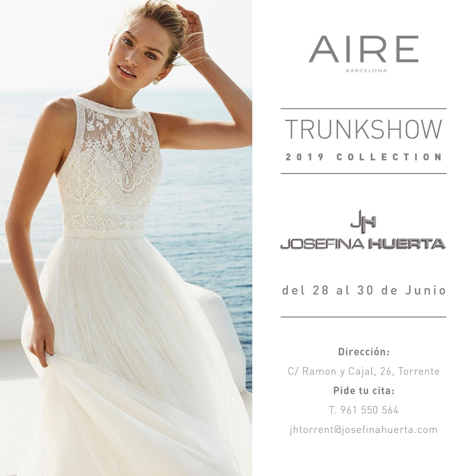 3d47b7861 Recuerda  ¡te esperamos en Josefina Huerta para mostrarte en exclusiva todo  lo que la colección 2019 de AIRE BARCELONA trae para ti!