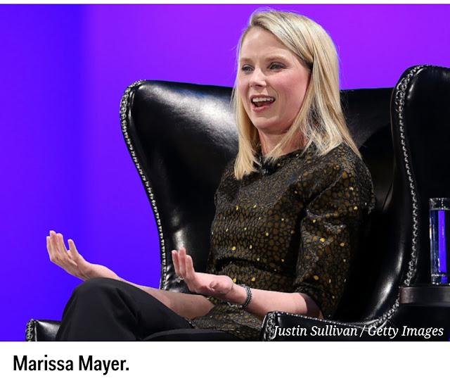 Marissa Mayer telah mengundurkan diri sebagai CEO Yahoo