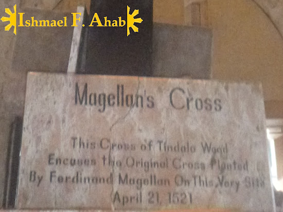 Marker of Magellan's Cross in Cebu City